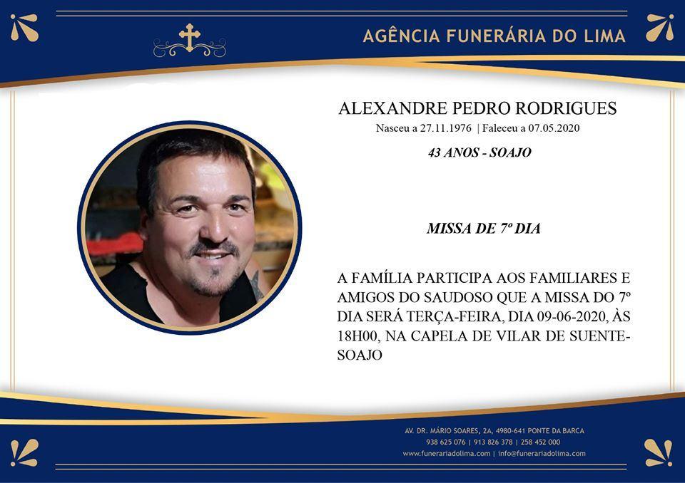 Alexandre Pedro Rodrigues