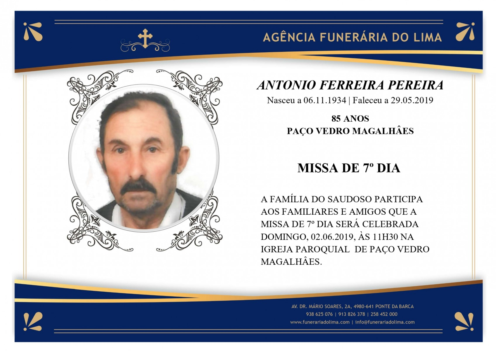 António Ferreira Pereira