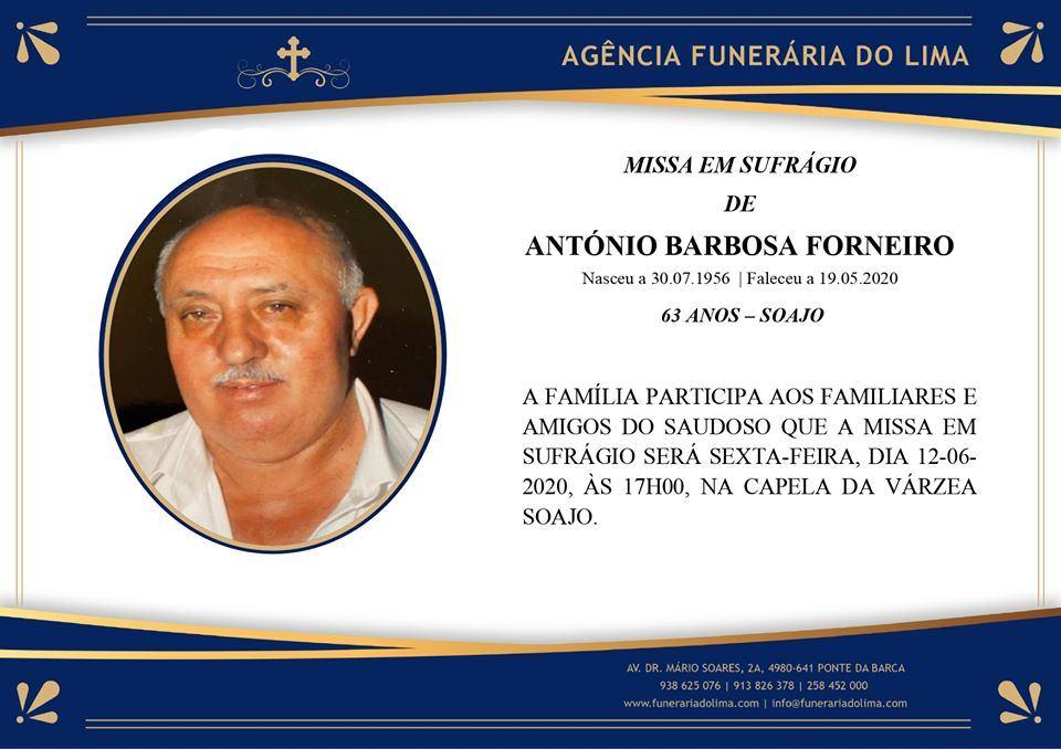 António Barbosa Forneiro