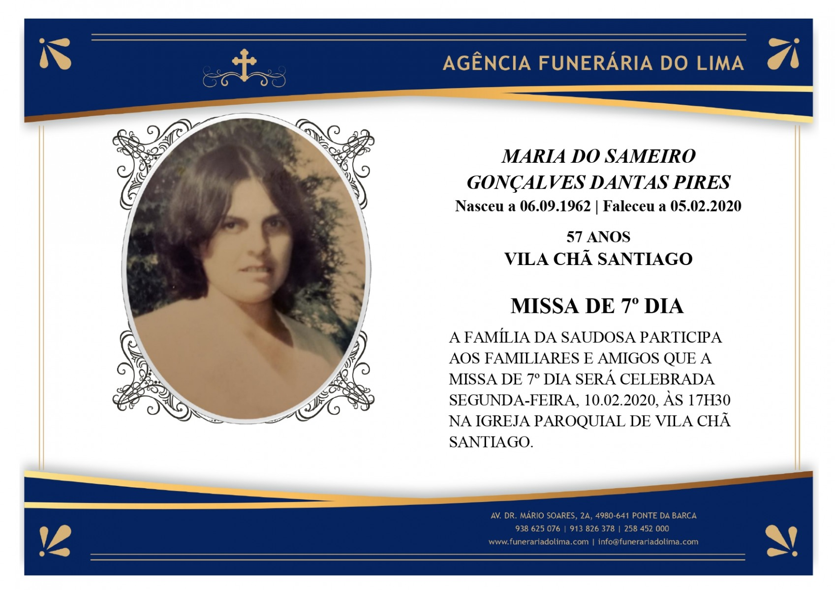 Maria do Sameiro Gonçalves Dantas Pires