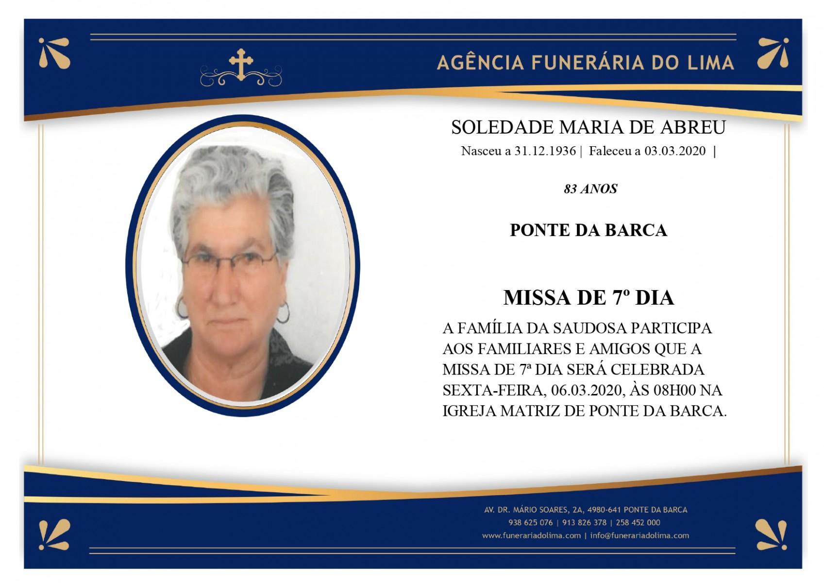 Soledade Maria Abreu