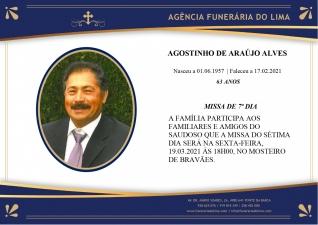 Agostinho Araújo Alves