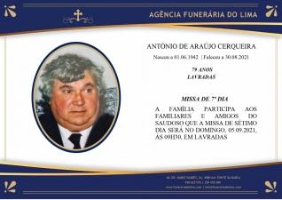 António de Araújo Cerqueira