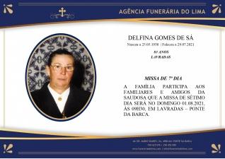 Delfina Gomes de Sá