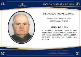 Franciso Rodas Afonso