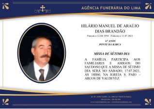 Hilário Manuel Araújo Dias Brandão