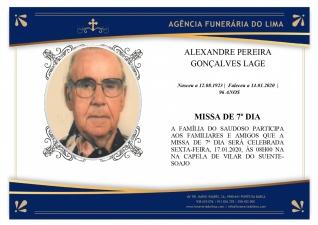 Alexandre Pereira Gonçalves Lage