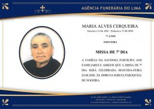 Maria Alves Cerqueira