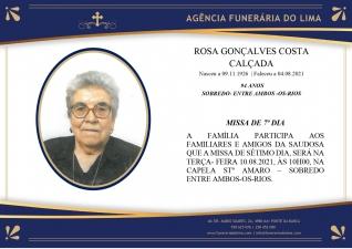 Rosa Gonçalves Costa Calçada