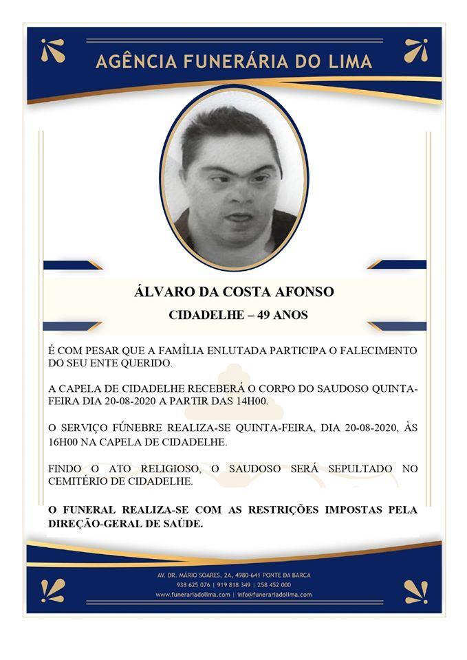 Álvaro da Costa Afonso