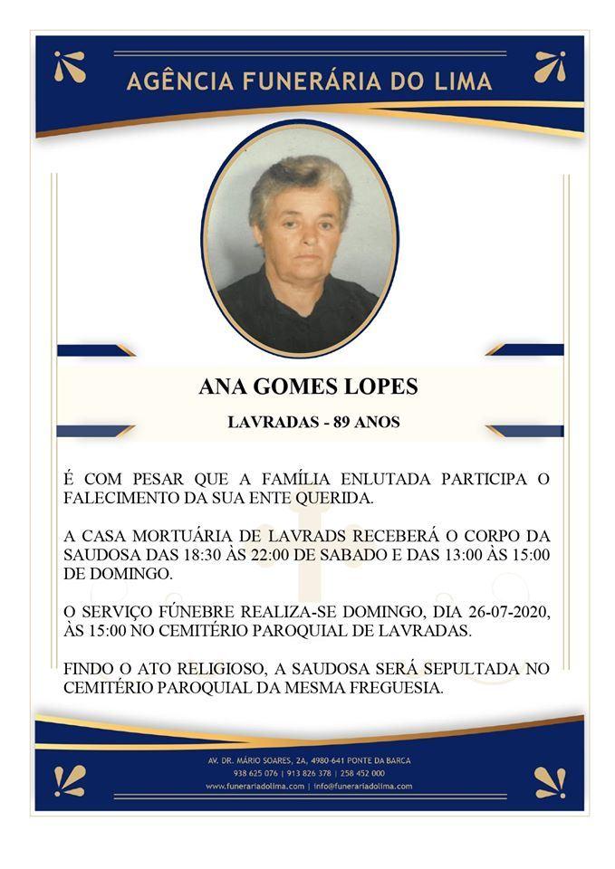 Ana Gomes Lopes