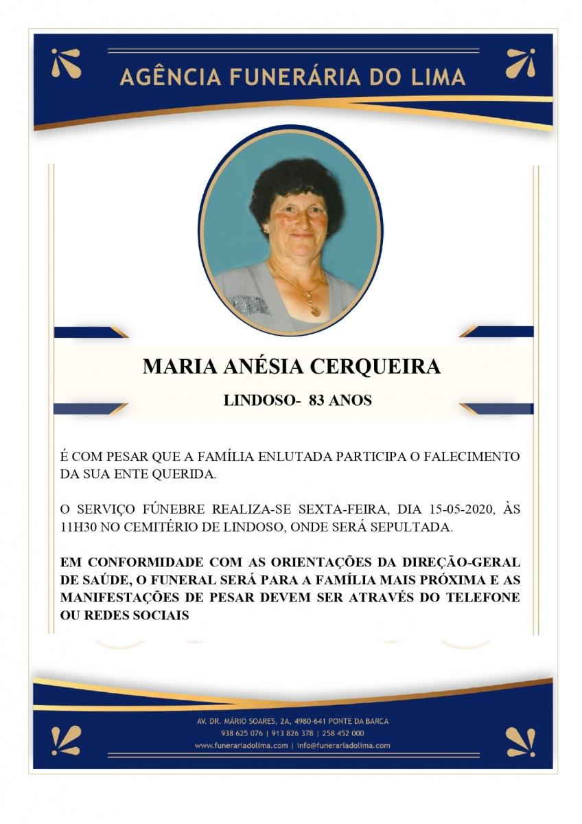 Maria Anésia Cerqueira