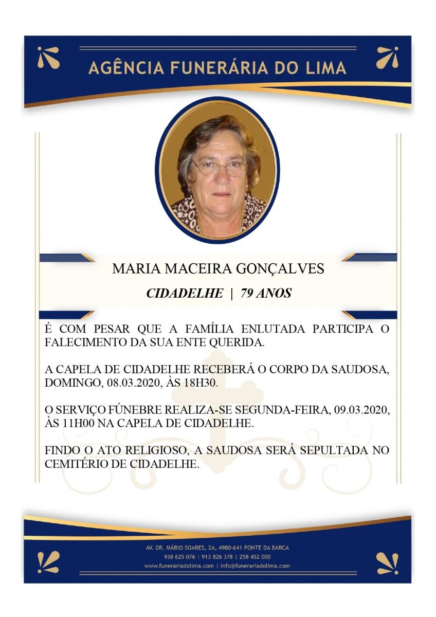 Maria Maceira Gonçalves
