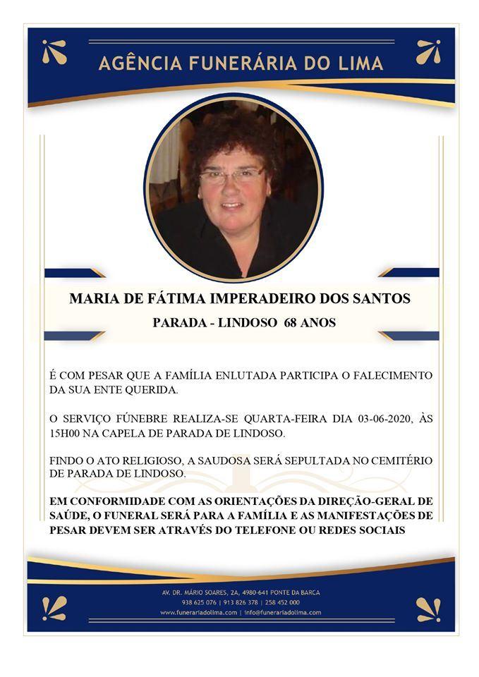 Maria Fátima Imperadeiro Santos