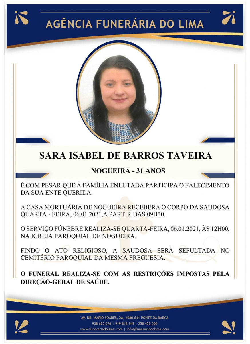 Sara Isabel de Barros Taveira