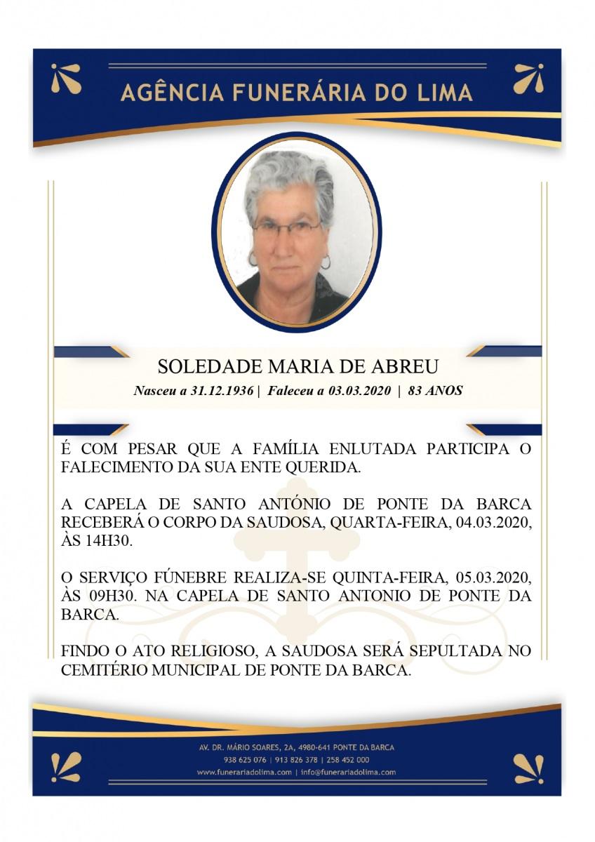 Soledade Maria de Abreu