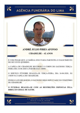 André Júlio Pires Afonso