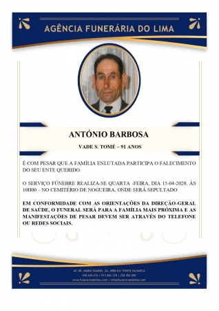 António Barbosa