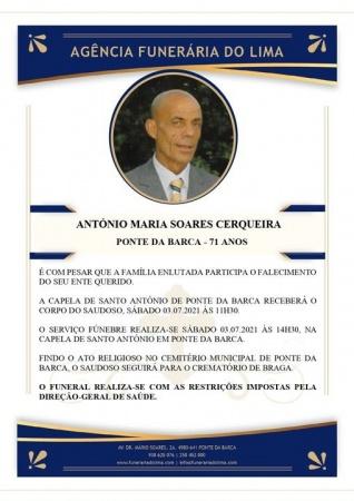 António Maria Soares Cerqueira