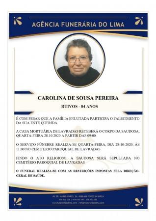 Carolina Sousa Pereira