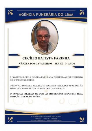 Cecílio Batista Farinha