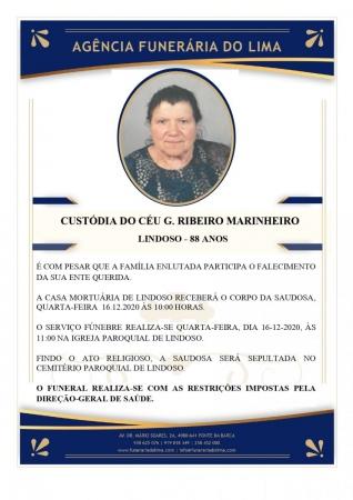 Custódia do Céu Gonçalves Ribeiro Marinheiro