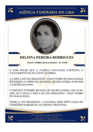 Delfina Pereira Rodrigues