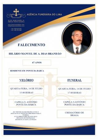 Hilário Manuel de A. Dias Brandão
