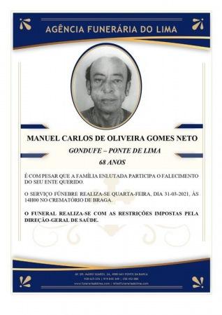 Manuel Carlos Oliveira Gomes Neto
