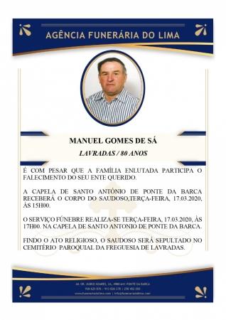Manuel Gomes de Sá