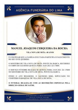 Manuel Joaquim Cerqueira da Rocha