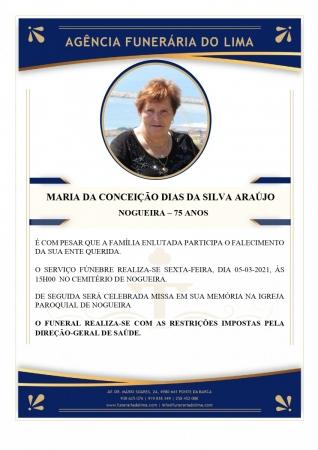Maria da Conceição Dias da Silva Araújo