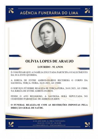 Olívia Lopes de Araújo