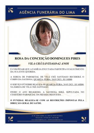 Rosa da Conceição Domingues Pires