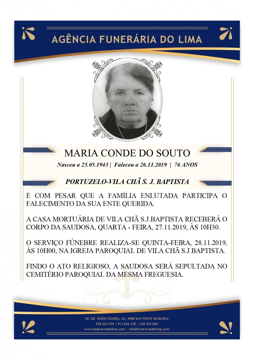 Maria Conde do Souto
